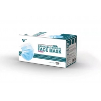 Buy cheap 3 Ply ASTM LEVEL 3 Hypoallergenic Disposable Face Mask from wholesalers