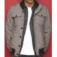 China Men's Zip And Button Up Long Sleeve Woven Jackets on sale