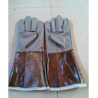 China leather welding gloves on sale