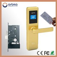 Quality 100% stainless steel door lock with big LCD display screen for sale