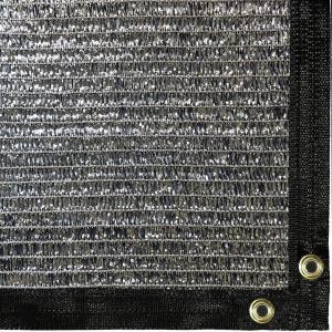 Quality garden aluminum shade net, carport aluminum shade covers, car sun protection silver foil shade net for sale