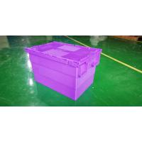 Quality 600*400*365 mm plastic stacking totes more colors customization for sale