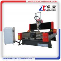Quality ZK-9015 Stone Engraving Machine for marble granite with air cylinder 900*1500mm for sale