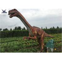 Buy Outside Zoo Park Decorative Realistic Dinosaur Models Water And Smoke Spraying at wholesale prices