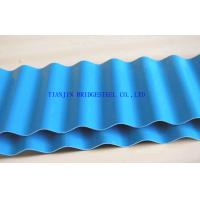 Quality DX54D+Z Colored Hot Dipped Galvanized Corrugated Steel Sheet For Building Material for sale