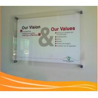 Best Wall-mounted transparnet acrylic poster display frame wholesale