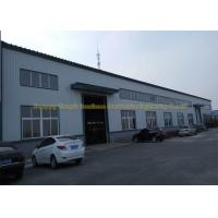 Quality Prefabricated Flat Roof Steel Workshop Buildings Environment Protection for sale