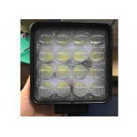 China 4D 48W CREE LED Work Lights 4.5 Inch Square led work lamp for ATV Jeeps 4x4 Fishing Boat Tractor Trucks SUVs on sale