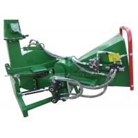 Quality Hydraulic 3 Point Wood Chipper With 20 - 50HP Tractor 4 Cutting Knives for sale