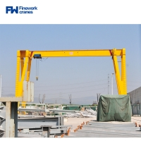 Quality European Portable Single Girder Gantry Crane With Electric Trolley for sale
