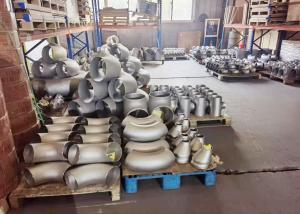Quality Shot Blasting TP304 DN15  Butt Welded Pipe Elbow Press Forming for sale