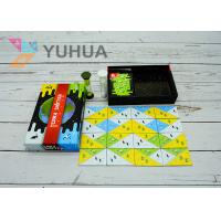 Quality Family Board Game OEM Printing With Dice And Timer for Kids and Families Age for sale
