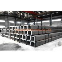 Quality Q195, Q235, Q345 Black Square Hollow Section Steel Pipe For Construction for sale