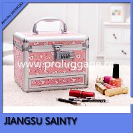 SACMC052 beautiful pink printing pvc personalized cosmetic case