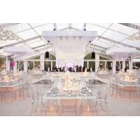 Quality Transparent PVC Wedding Event Tents , Large Event Tents For Wedding Ceremony for sale