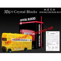 China 3D Crystal Puzzle - London Bus on sale