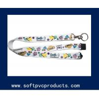 Quality Personalized Promotional Custom Printed Lanyards / Polyester Tube Lanyard with OEM Logo for sale