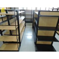 China Store Wood And Metal Shelve Wire Grid MDF Board Back Panel Backing on sale