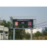 China Low Power Consumption HD Outdoor LED Video Wall P10 Super Brightness For Sport on sale
