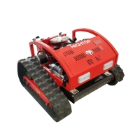 Quality Low Price Crawler Remote Control Lawn Mower Machines Used In Farming for sale