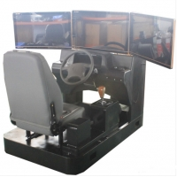Quality Car Driving Simulator 2021 Luxury New Version Of Car Driving Simulator Driving Training Machine Manufacturer for sale