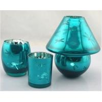 Best gift glass candle holder set wholesale