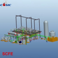 China 900kw 1500L×3 Supercritical Fluid CO2 Extraction Machine for sale