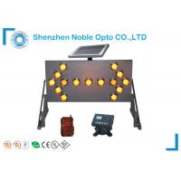 China 15 Lamps and 7 Modes Led Arrow Board , Vehicle Mounted Arrow Board Traffic Light System on sale