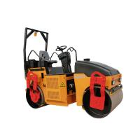 3ton Fully hydraulic double drum vibratory roller  KD03