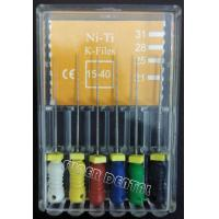 Quality Endodontic NiTi Hand Use Manual K file #15-40 for sale