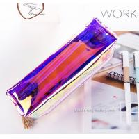 Quality Fashion Plastic Cosmetic Bags Heat - Sealed Welding Or Stitching / Sewing for sale