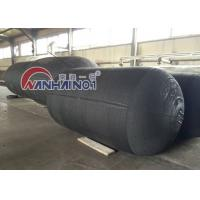 China Black / Grey Pneumatic Marine Rubber / Boat Dock Fender Passed ISO 17357 on sale