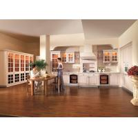 Best Sycamore Solid Wood Kitchen Cabinets European Style For Home / Hotel / Apartment wholesale