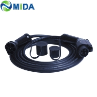 Quality TUV 32Amp PP Cord Type 1 To Type 2 Ev Charging Cable ERP Insulation for sale