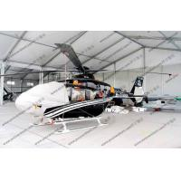 Quality White Waterproof Aircraft Hangar Tent For Helicopter Parking Or As Hanger Shelter for sale