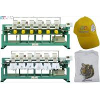 China Six Head Clothes Nine Needle Digital Embroidery Machine With Servo Motor on sale