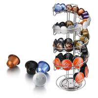 Quality Spiral Type Metal Stand Nifty Coffee Pod Holder Capsule Holder for sale