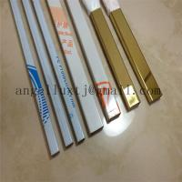 China Interior wall decoration stainless steel edge tile trim made in china on sale