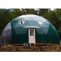 China Green Pvc Cover Army Dome Tent Hot-Dip Galvanized Steel Large Military Tents on sale