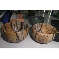 Quality Natural Picture Jasper Bowl Crafts for Home Decoration for sale