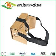 Quality google cardboard v1.0 with headband for sale