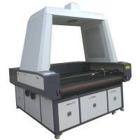 Quality Advertising Use Flag CCD Camera Laser Cutting Machine Printed Fabric Banner for sale