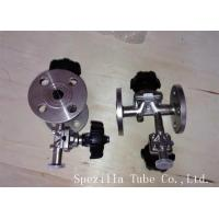 Quality TP304 TP316L SF1 Polished Santiary Fittings Valves For Beverage Dairy Wind Equipment for sale
