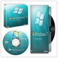 Quality Sealed Box Windows Seven Enterprise Activation Online With Multi Language for sale