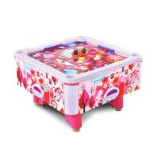 Quality Mini Kids Game Machine Metal Acrylic Air Hockey Table for sale