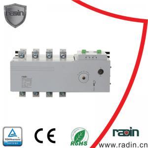 Quality Emergency Generator Load Transfer Switch , Dual Power 4 Circuit Generator Transfer Switch for sale