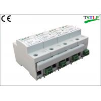 Quality 8 Mods Din Rail Mount Three Phase Lightning Surge Protector For Db Board for sale