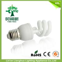 China Halogen Half Spiral Energy Saving Incandescent Light Bulbs CFL With Warm White on sale