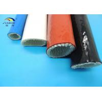 Best Fire Protective Fiberglass Sleeves with Silicone Rubber Coating 100mm ID wholesale