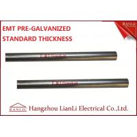 """Quality 1-1/2"""" Steel Electrical Metallic Conduit with Pre Galvanized Finish 3.05 Meters for sale"""